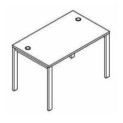Biurko proste BSA71 wymiary: 116x70x75,8 cm