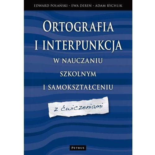 Językoznawstwo, Ortografia i interpunkcja w nauczaniu szkolnym i samokształceniu (opr. broszurowa)
