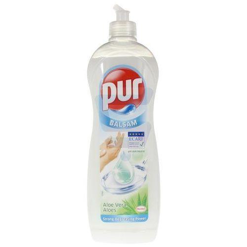 Płyny do zmywania, Płyn do mycia naczyń Pur Balsam Aloe Vera 900 ml