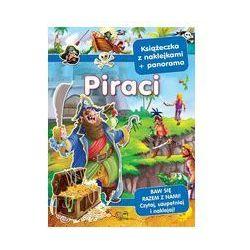 Piraci. Książeczka z naklejkami + panorama - Praca Zbiorowa