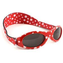 Okulary przeciwsłoneczne dzieci 2-5lat UV400 BANZ - Red Dot