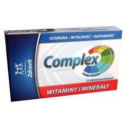 ZDROVIT COMPLEX Witaminy i Minerały x 56 tabletek