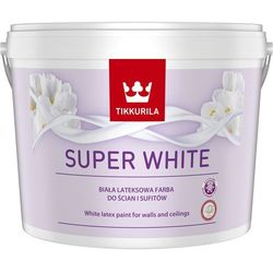 Farba lateksowa Tikkurila Super White 10 l
