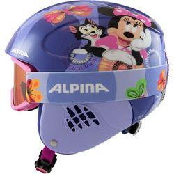 Alpina Carat Set Disney Kask Dzieci, Minnie Mouse 48-52cm 2019 Kaski narciarskie