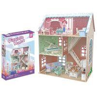 Domki dla lalek, Puzzle 3D Domek dla lalek Pianist's Home