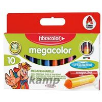 Mazaki i flamastry, Mazaki Megacolor 10 kol. FIBRACOLOR