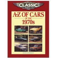 Książki sportowe, Classic and Sports Car Magazine A-Z of Cars of the 1970s