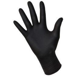 """Rękawice nitrylowe NITRYLEX black """"L"""" 100szt."""