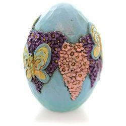 Pisanka jajko Wielkanocne motyl Mini Character Eggs 4051405 Jim Shore figurka ozdoba świąteczna
