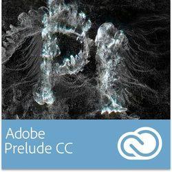 Adobe Prelude CC dla użytkowników wcześniejszych wersji - Subskrypcja