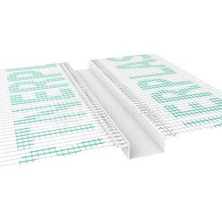 Listwa do boniowania z siatką 30x20 mm H=3cm, L=2mb pakiet 20szt.