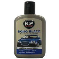 Pielęgnacja felg i opon, Czernidło do gumy i plastiku BONO BLACK K2 200 ml K2K030 BUMPER & RUBBER BLACK czyści, nabłyszcza i chroni przywraca głęboką czerń