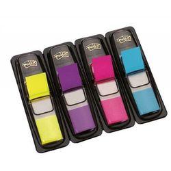 Zakładki indeksujące POST-IT (683-4AB) PP 12x43mm 4x35 kart. mix kolorów neonowy