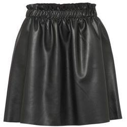 Vila VIEMMA FAUX SKIRT Spódnica trapezowa black