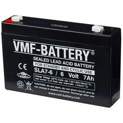 VMF AGM Akumulator 6V, 7Ah, SLA7-6 Darmowa wysyłka i zwroty