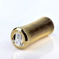 YVONNE GOLD Wazon 10x10xh24,5cm
