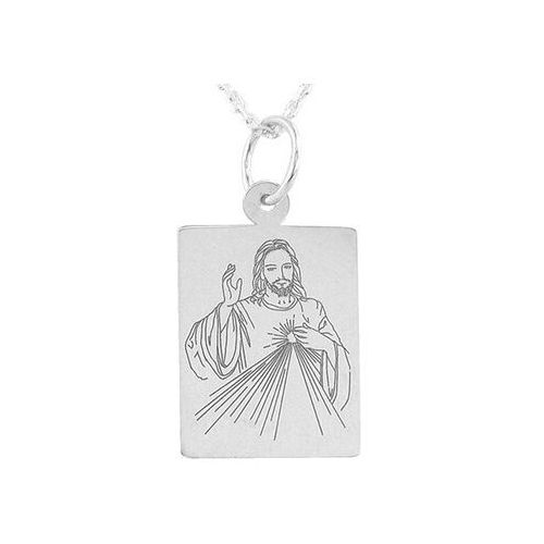 Pozostała biżuteria, Medalik srebrny z wizerunkiem jezusa med-jezus.m-3