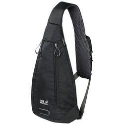 Torba - plecak na jedno ramię DELTA BAG AIR black - ONE SIZE