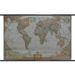 World Executive National Geographic Świat mapa ścienna