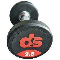 Hantel ogumowany DS 15 kg