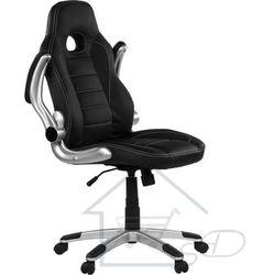 Fotel biurowy Racer GT funkcyjny dla gracza do biura czarny