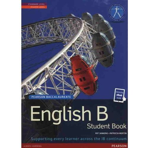 E-booki, Pearson Baccalaureate English B print and ebook bundle for the IB Diploma