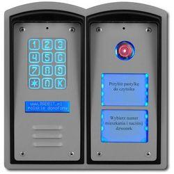 Cyfrowy domofon wielorodzinny z szyfratorem, czytnikiem i listą /panel zewnętrzny/