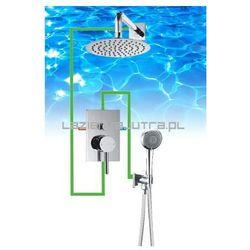 OMNIRES Kompletny system łazienkowy, podtynkowy, chrom SYS23/K