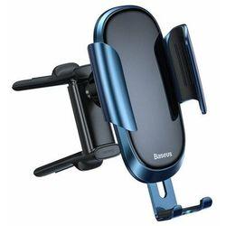 Baseus Future Gravity | Uchwyt samochodowy na okrągłą kratkę nawiewu do telefonu 4-6.5'' - Niebieski