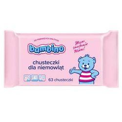 BAMBINO 63szt Chusteczki dla niemowląt