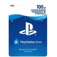 Klucze i karty pre-paid, SONY PlayStation Live Card (PS4) PLN100/POL PSN 100