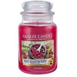 Yankee Candle Red Raspberry 623g DUŻA ŚWIECA SZYBKA WYSYŁKA infolinia: 690-80-80-88