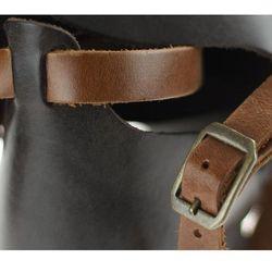 Sandały Nessi 49204 - brązowo 112 koniakowe 11