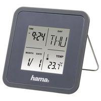 Zegary, Budzik HAMA Multi Alarm Clock Szary