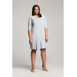 WENDY GRAY trapezowa sukienka plus size