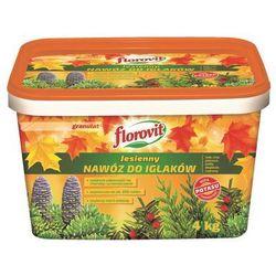 Nawóz jesienny do iglaków Florovit : Pojemność - 4 kg