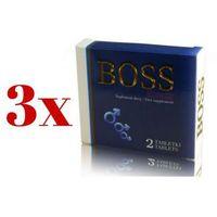 Leki na potencję, MEGA ZESTAW 2+1 Gratis Boss Energy Ginseng 6 tab. | 100% DYSKRECJI | BEZPIECZNE ZAKUPY RABAT -33%