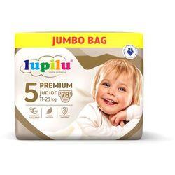 LUPILU® Pieluchy PREMIUM 5 Junior (11-23 kg), 78 sztuk