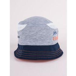 Czapka letnia kapelusz szara z siateczką stay cool 46-48