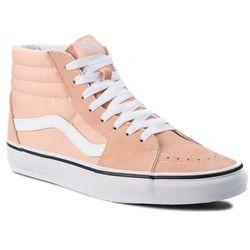 Sneakersy VANS - Sk8-Hi VN0A38GEU5Y Bleached Apricot/True Whi