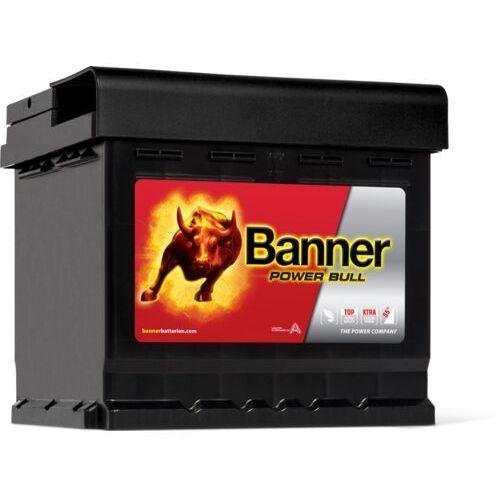 Akumulatory samochodowe, Akumulator Banner POWER BULL 12V 44Ah 420A P+ (wymiary: 210 x 175 x 175) (P44 09)