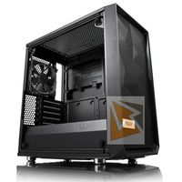 Obudowy do komputerów, Fractal Design Obudowa Meshify MINI C Blackout Tempered Glass