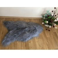 Skóry, Skóra owcza - Szara Island długi włos
