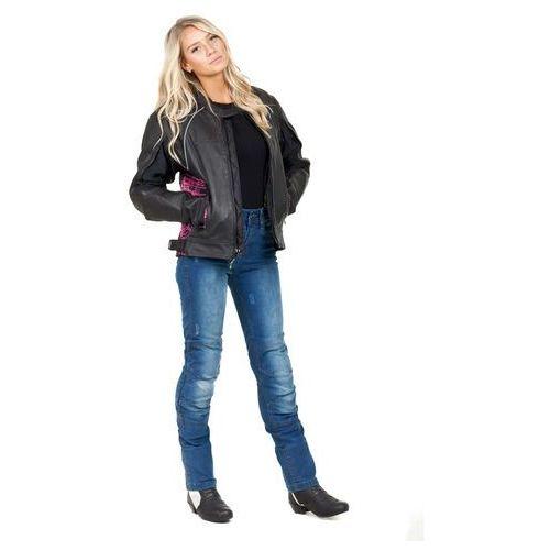 Spodnie motocyklowe damskie, Damskie jeansowe spodnie motocyklowe W-TEC Panimali, Niebieski, L
