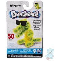 Kreatywne dla dzieci, Bunchems Aligator Zestaw Kumple Kolorowe Rzepy 50 el.