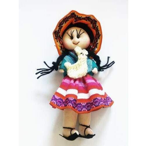 Lalki dla dzieci, Lalka szmaciana, przytulanka z Boliwii