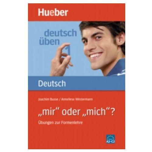 Książki do nauki języka, Deutsch uben 1-mir oder mich (opr. miękka)