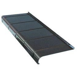 Parapet zewnętrzny aluminiowy Fola 20 x 120 cm antracyt