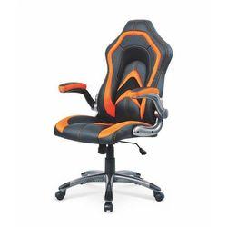 Anaconda fotel gamingowy dla graczy czarno-pomarańczowy