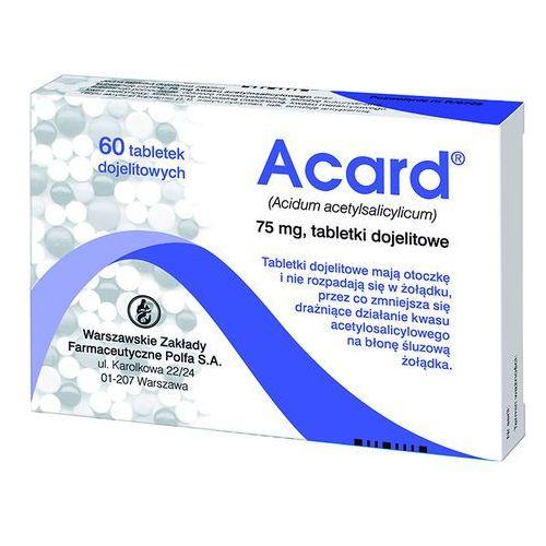 Leki na serce, Acard 75 mg x 60 tabl